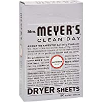 Laundry by Shelli Segal 2Pack Mrs MeyerS Dryer Sheets Lavender 80 Sheets