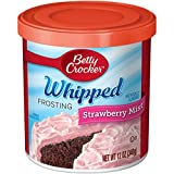 Betty Crocker Whipped Frosting –Strawberry– 340 Gram Can