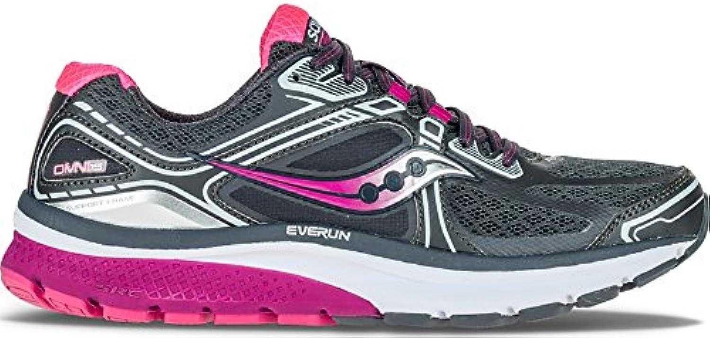 Saucony OMNI 15 GRY/PUR/PN 7 US  Zapatos de moda en línea Obtenga el mejor descuento de venta caliente-Descuento más grande