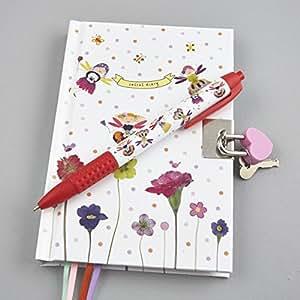kinder verschlie bares geheimes tagebuch tagebuch schreiben notebook schreiben notebook mit. Black Bedroom Furniture Sets. Home Design Ideas