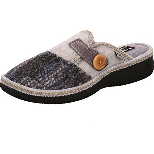 Air on Feet  New Italy 515953/2, Chaussons pour femme Grigio