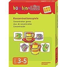 bambinoLÜK-Sets: bambinoLÜK-Set: Konzentrationsspiele: 3 - 5 Jahre