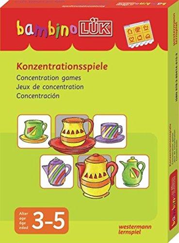 Preisvergleich Produktbild bambinoLÜK-Sets: bambinoLÜK-Set: Konzentrationsspiele: 3 - 5 Jahre