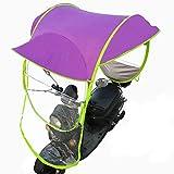 Alamor Universal Motor Scooter Umbrella Mobility Sunshade & Rain Cover Waterproof-4