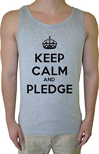 keep-calm-and-pledge-hombre-de-tirantes-camiseta-gris-algodon-mangas-mens-tank-t-shirt-grey