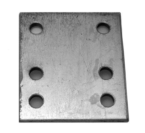 maypole-232-4-inch-6-hole-drop-plate-zinc-plated