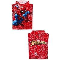Primark Marvel - Toalla de Baño con Capucha para Niños, Diseño de Batman Spider-