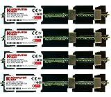 Komputerbay Arbeitsspeicher RAM FB-DIMM mit Hitzeverteilern (DDR2, PC2–5300F, 667MHz, CL5ECC, 240-polig) 16GB (4x4GB) 667Mhz MAC HS
