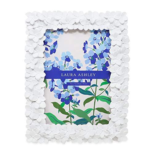 Isaak Jacobs Laura Ashley Blume Harz Bilderrahmen 5x7 Weiß (Weiß 5x7 Bilderrahmen)
