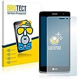 2x BROTECT Matte Protector Pantalla para LG LGX150 Protector Mate, Película Antireflejos