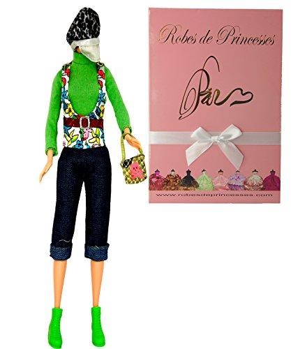 """Preisvergleich Produktbild Vêtements Fashion """"WELL"""" pour poupée Barbie, Disney et autres poupées mannequins """"Série Limitée"""""""