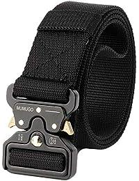 MUMUGO Men Tactical belt Military Style with Us Belt Heavy duty Nylon Belt For Hunting Training Army Running