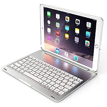 Deutsch iPad Pro 10.5 Tastatur, iEGrow F105 7 Farben: Amazon.de ...
