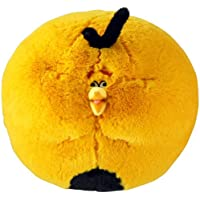 Commonwealth Toy CW92524 - Angry Birds mit Sound - Orange Globe Bird, 30 cm