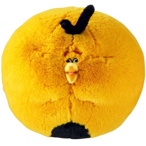 Commonwealth Toy CW92524 - Angry Birds mit Sound - Orange Globe Bird, 30 cm - Orange Globe Bird