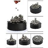ZMI® Magnetisch Skulptur Schreibtisch Spielzeug mit Edelstahl Kugel Stress Killer Büro Dekoration (pack of 3)