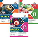 Combo 10 in One Study Package for CBSE Physics, Chemistry & Biology Class 11 with 9 Sample Papers