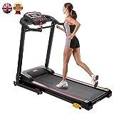 Rocket Bunny Folding Treadmill Motorised Electric Treadmill Running Machine Fitness Exercise Machine