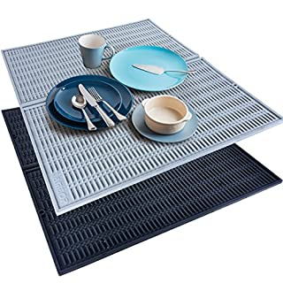 Amtop Extra Large Foldable Dish Silicone Dish Drying Mat, 20