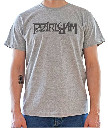 DreamGirl Pearl Jam Logo Mens T-Shirt Large