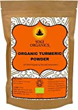 Organic Turmeric Powder 1KG (2 x 500g Pouches) - By Yogi Organics - Premium Quality from India - Grown on Naturally Organic Land in The Himalayas