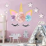 Sayala Einhorn Backdrops/Blume Einhorn Rosa Hintergrund/Unicorn Birthday Party Wand dekoration für einhorn party deko kindergeburtstag