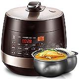 Lxj Herd Elektro Schnellkochtopf Haushalt 5L 6L intelligente Hochdruck Reiskocher