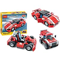 PLUSPOINT Exclusive of Blocks and Bricks for Kids, Boys & Girls with Different Themes (23 in 1)
