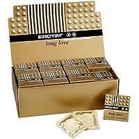 EROTIM Long Love gerippt und genoppt - 2x48 aktverlängernde Kondome im Display preisvergleich bei billige-tabletten.eu