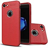 Kaizen™ Soft Silicone TPU Flexible Auto Focus Back Cover For Apple Iphone 6 (Red)