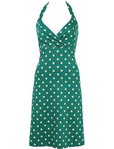 King Louie - Robe - Femme Vert - Green - Oil Green