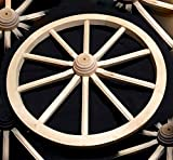 Große Wagon Wagenrad Massivholz Beste Qualität Details woodeeworld
