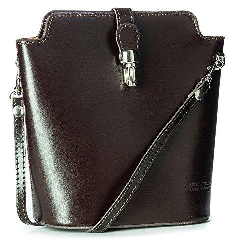 Big Handbag Shop, Borsa a tracolla donna One Marrone (Caffè)