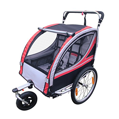 geek-house-gemelos-ninos-kids-doble-versatil-bicicleta-remolque-multi-protection-silla-de-paseo-todo