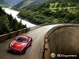 Alfa Romeo 8C poster Print A3 size