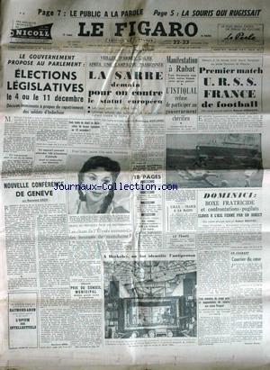 FIGARO (LE) [No 3460] du 22/10/1955