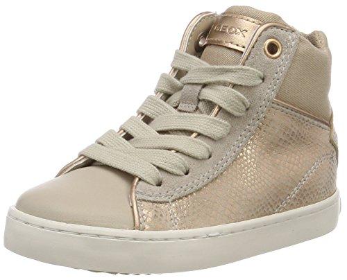Geox Mädchen J Kilwi Girl H Hohe Sneaker, Pink (Skin), 32 EU