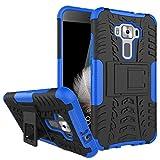 AIBULO® Asus Zenfone 3 ZE520KL Custodia - iHarbort morbido protettiva TPU Case Cover Custodia in silicone per Asus Zenfone 3 ZE520KL (Blu)