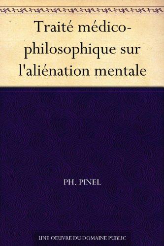 Couverture du livre Traité médico-philosophique sur l'aliénation mentale