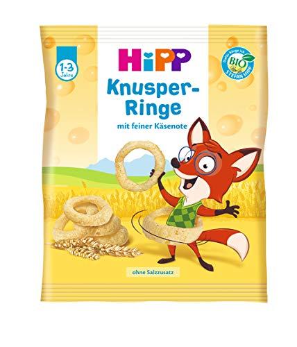 Hipp Knabberprodukte, Knusper-Ringe, 7er Pack (7 x 25 g)