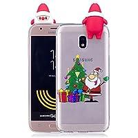Everainy Samsung Galaxy J3 2017 Silikon Hülle 3D Weihnachts dünn Durchsichtig Hüllen Handyhülle Gummi Samsung... preisvergleich bei billige-tabletten.eu