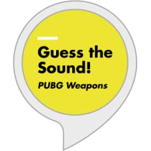 Guess the sound : PUBG Weapons
