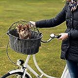 Trixie Fahrradkorb grau