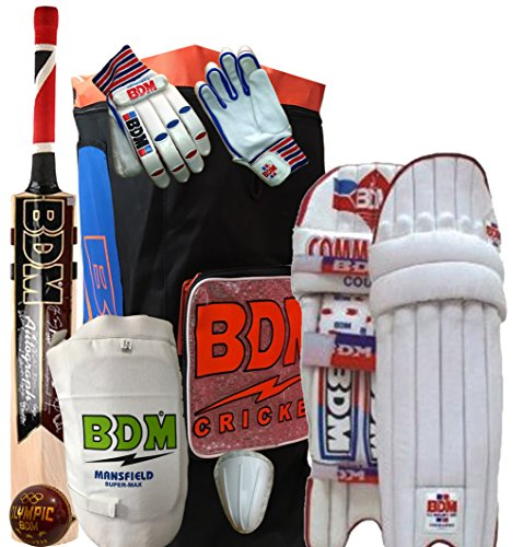 BDM SuperLite Cricket Kit for youth, Size 4 (Ideal for age between 8 to 10 Yrs)