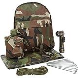 Enfants Army Camouflage junior Survival Pack - Armée Roleplay Enfants