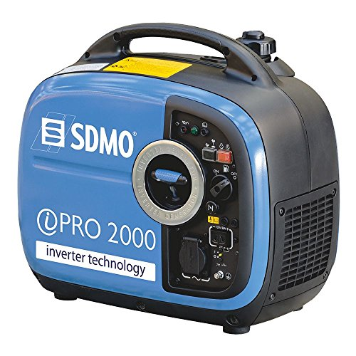 SDMO Stromerzeuger IPRO 2000 Trolley Inverter 2 Kw mit Yamaha Motor Benzin Generator (Yamaha Generatoren)