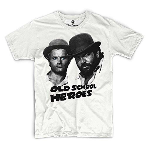 Bud Spencer - Old School Heroes - T-Shirt (XXL) (T-shirt Old-school-xxl)