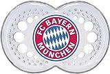 FC Bayern München Schnuller Silikon 6-16 Monate, 1 Paar