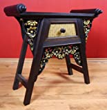 Asiatischer Schrank, Sideboard, Kommode aus Massivholz und Rattan Nr.2. Asia Möbel (Bali, China, Indonesien) aus Thailand.