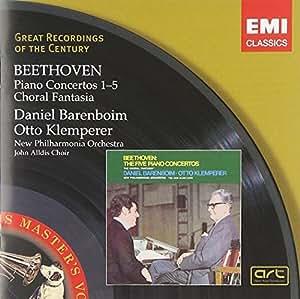 Beethoven: Piano Concertos Nos. 1-5 / Choral Fantasia